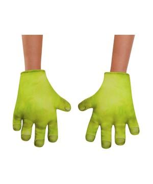 Soft Shrek Hands Boys Gloves