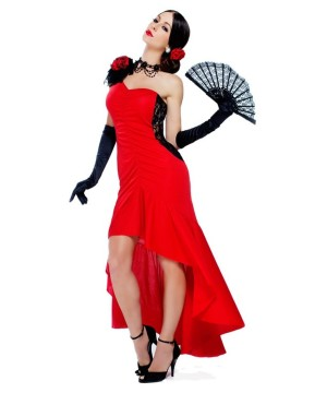 Sizzling Senorita Womens Spanish Dancer Costume