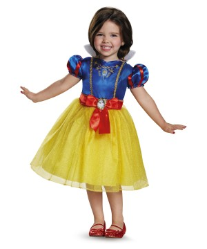 Snow White Classic Girls Disney Dress Costume