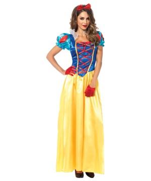 Snow White Enchanted Disney Princess Dress Costume
