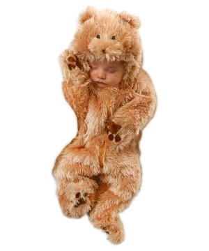 Snuggle Bear Infant Baby Jumpsuit Costume