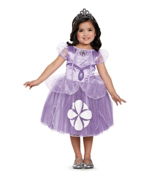 Sofia the First Toddler Girls deluxe Costume
