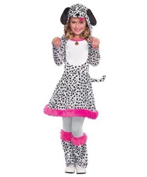 Spotted Dalmatian Girls Costume