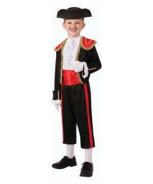 Sr Matador Boys Spanish Bullfighter Costume