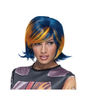 Star Wars Rebels Sabine Wren Womens Wig