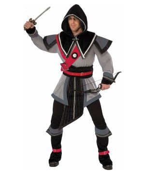 Stealthy Shadow Warrior Mens Costume