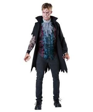 Street Fight Vampire Mens Costume