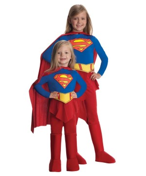 Supergirl Power Toddler Girls Costume