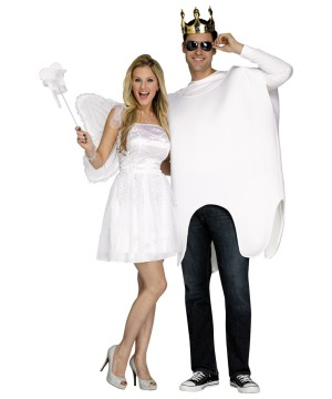Tooth Fairy and Molar Couple Costume