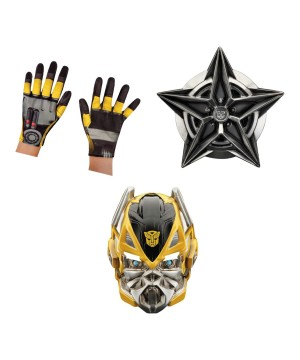 Transformers Bumblebee Boys Mask Gloves and Shield