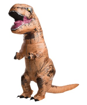 Jurassic World T-rex Inflatable Mens Costume