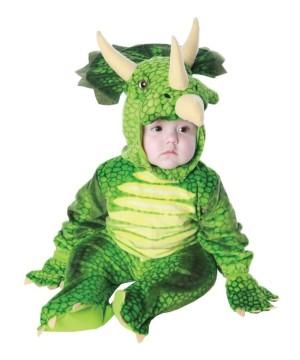 Triceratops Baby Costume