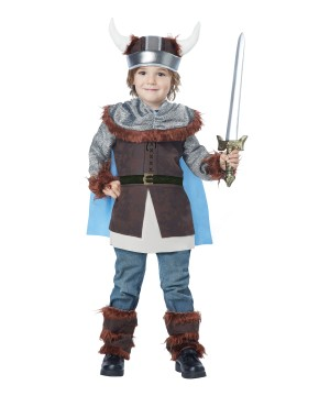 Valiant Viking Boys Costume