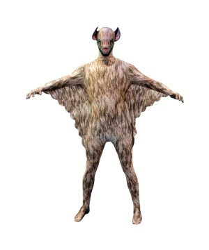 Vampire Bat Morphsuit Men Costume