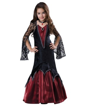 Vampiress Dressed To Impress Girls Costume