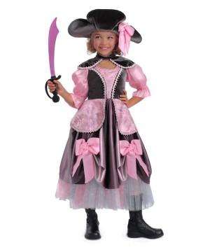 Vivian the Pirate Girls Costume