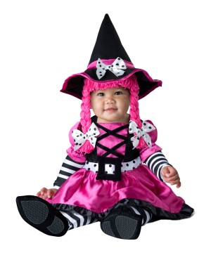 Wee Little Witch Baby Girl Costume