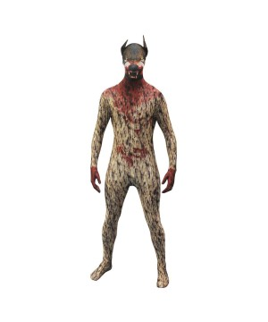 The Werewolf Morphsuit Mens Costume deluxe
