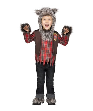 Wolf Wear Toddler Boys Costume