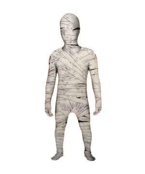 Wrapped up Mummy Boys Morphsuit Costume