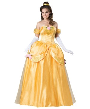 Yellow Fairytale Belle Womens Costume Prestige