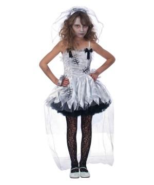 Zombie Flower Girl Halloween Costume