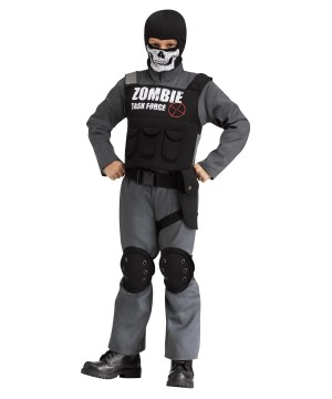 Zombie Task Force Boys Costume