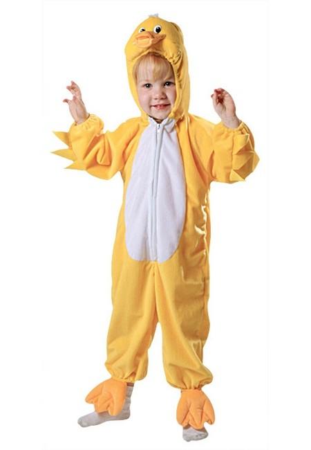 Duckling Baby Costume