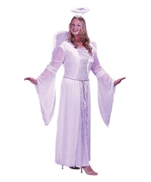 White Angel Women plus size Costume