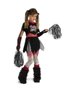 Cheerless Leader Girls Teen Costume