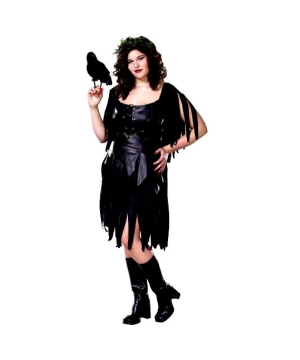 Evil Fairy Costume - Adult plus size Costume