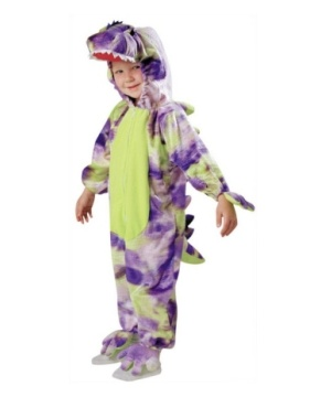 Dinosaur Costume With Polka Dots - Toddler Costume