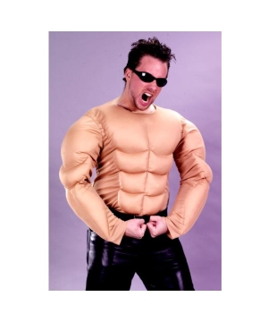 Muscle Man Shirt Adult Costume