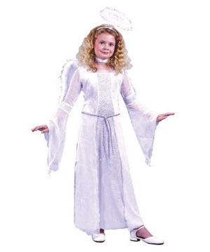 Heavenly Angel Girls Costume