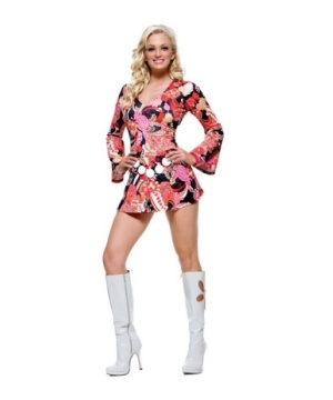 Go Go New Print Women Costume