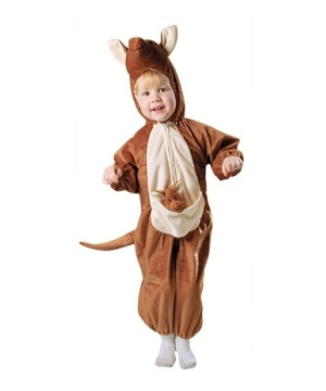 Baby Plush Kangaroo Costume - Toddler Costume