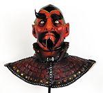 Warlock Satan Devil Mask deluxe