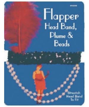 Flapper Headpiece Costume Accessory