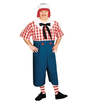 Raggedy Andy plus size Costume