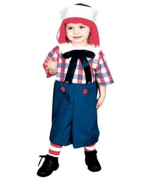 Raggedy Andy Boys Costume