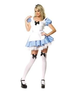 Alice Adventures in Wonderland Sexy Women Costume