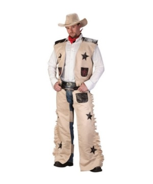 Cowboy Brown Men Costume - Cowboy Costumes
