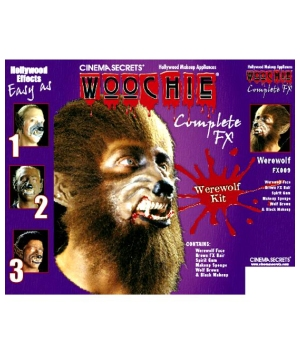 Werewolf Makeup Kit deluxe