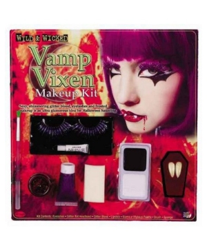 Devil or Vamp Vixen Costume Makeup Kit
