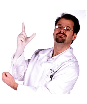 Seymour Bush, M.d. Lab Coat Adult Costume