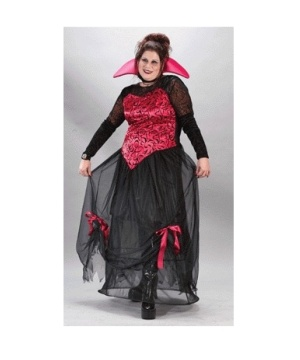 Goth Bloodstone Vampire Adult Costume plus size