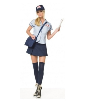 Mail Delivery Women Costume