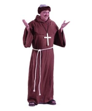 Medieval Monk Men Costume