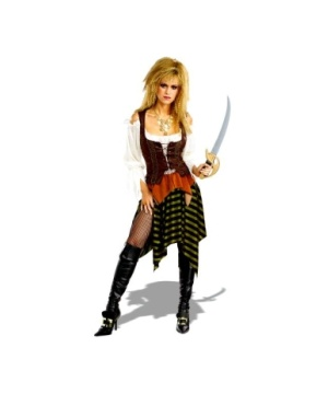 Pirate Wench Costume - Adult Costume