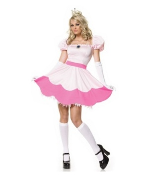 Princess Peach Adult Costume